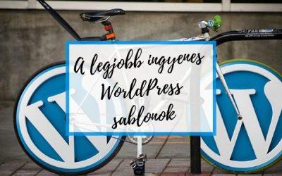 A legjobb ingyenes WordPress  sablonok – 2021